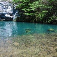 голубое озеро :: Августа