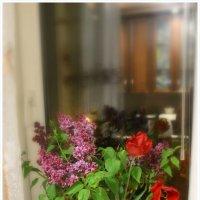 На подоконнике букет с ароматом мая. :: Валентина ツ ღ✿ღ