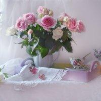 Розовое наваждение... :: Валентина Колова