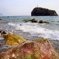 Яшмовый пляж. :: Kонстантин Брагин