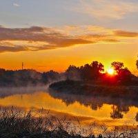 Рассвет над Цной :: Дмитрий Илюхин