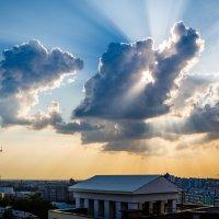 cloud at backlight :: Дмитрий Карышев