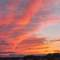 Норвегия, закат :: Александр Шмелёв