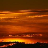 багровый закат :: Никита Храмцов
