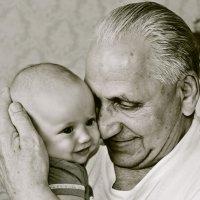 счастливый дед :: людмила шевко-лейко