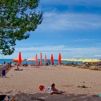 Анапа, песчаный пляж :: Елена Васильева