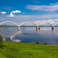 Мост у станции Волга :: Илья Бесхлебный