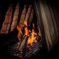 пламенеющий лосось , пальчики оближешь ... :: человечик prikolist