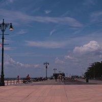 Прогулочная дорожка Брайтон-бич. :: Galina Kazakova