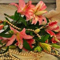 махровые лилии для прекрасной женщины :: Светлана .