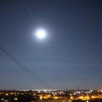 Город, море, луна :: Евгений Носков