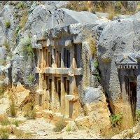 Ликийские гробницы :: Василий Хорошев