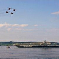 Стрижи над Североморским рейдом :: Кай-8 (Ярослав) Забелин