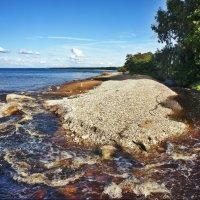 Удивительное рядом, море и река — редкое соседство :: Елена Павлова (Смолова)
