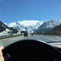 Дорога в Альпы :: Johann Lorenz
