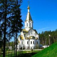 Православный храм у мемориала в Катыни :: Милешкин Владимир Алексеевич