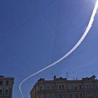 Летчик обогнул препятствие, не снижая скорости... :: Senior Веселков Петр