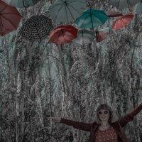 дождь из зонтиков :: Роза Бара