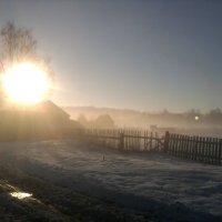 Осеннее утро. :: Марина Китаева