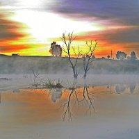 Утро на озере :: Дубовцев Евгений