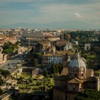 Вид сверху на Рим :: Николай Бакс