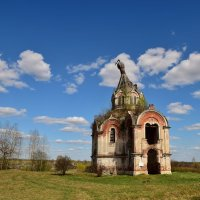 Церковь Николая Чудотворца в селе Гурьево-Воскресенское, Тверская область :: Ирина Бирюкова