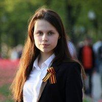 образ девушки с георгиевским бантом :: Олег Лукьянов