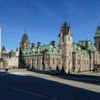 Западный блок канадского парламента в Оттаве :: Юрий Поляков