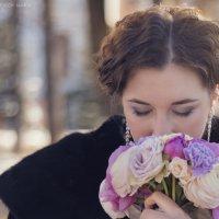 невеста на прогулке :: Мария Мацкевич
