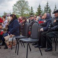 Редеет строй ветеранов, но память о их подвиге жива!.. :: Митя Шишкин