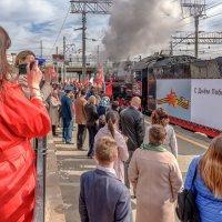 Отправление ретро-поезда :: Владимир Любавин