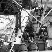 Рыбный порт Рига.1971-й. :: Иволий Щёголев