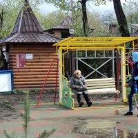 Наташинский парк в Подмосковных Люберцах. :: Ольга Кривых