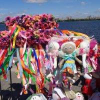 Украинский разноцветный вид на Днепр... :: Алекс Аро Аро