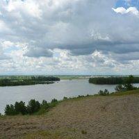 Река Бия :: Олег Афанасьевич Сергеев