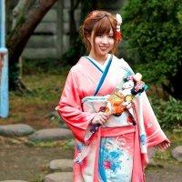 Девушка в кимоно :: Alexander Dementev