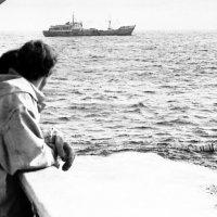 """1970-й.Атлантический океан.БМРТ-388 """"Семён Дежнёв"""" :: Иволий Щёголев"""
