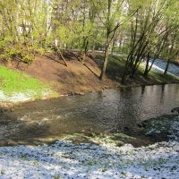 Речка Лихоборка в мае :: Дмитрий Никитин