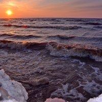 Ледяной май Белого моря. :: Елена Третьякова