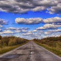 Дорога в облака :: Юрий Григорьевич Лозовой