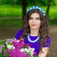 Иринка-картинка :: Дина Горбачева