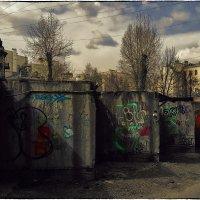 My magic Petersburg_02559_ул. Любанская (сквер Виктора Цоя) :: Станислав Лебединский