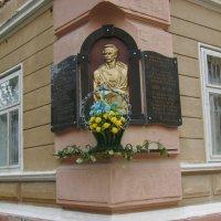 Мемориальная   доска   в   Коломые :: Андрей  Васильевич Коляскин