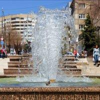 - Чижик-пыжик где ты был? - Я в фонтане воду пил. :: Anatol Livtsov