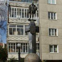 Памятник   погибшим   полицейским   в   Ивано - Франковске :: Андрей  Васильевич Коляскин