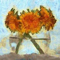Одуванчики для Ван Гога.... :: Tatiana Markova