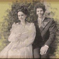 Пушкин и жена :: Юлия Денискина