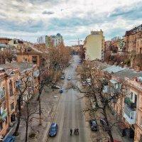 Военный спуск,- взгляд с Тещиного моста.... :: Вахтанг Хантадзе