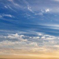 Просто небо в кучерявых облаках :: Анатолий Клепешнёв