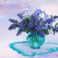 Букет с синими цветами. :: alfina